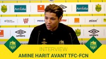 Amine Harit avant FCN-FCN