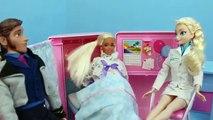 Barbie Pregnant Baby Birth Story 3 Doctor Elsa DisneyCarToys Disney Frozen Princ