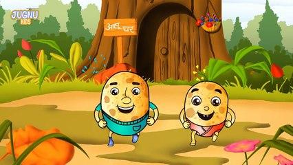 Aloo kachaloo kahan gaye they - Hindi Rhymes | Nursery rhymes from Jugnu Kids