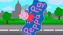 Peppa Pig Friends, Candy Cat, Pedro Pony, Zoe Zebra, | Peppa Skateboarding #Animation