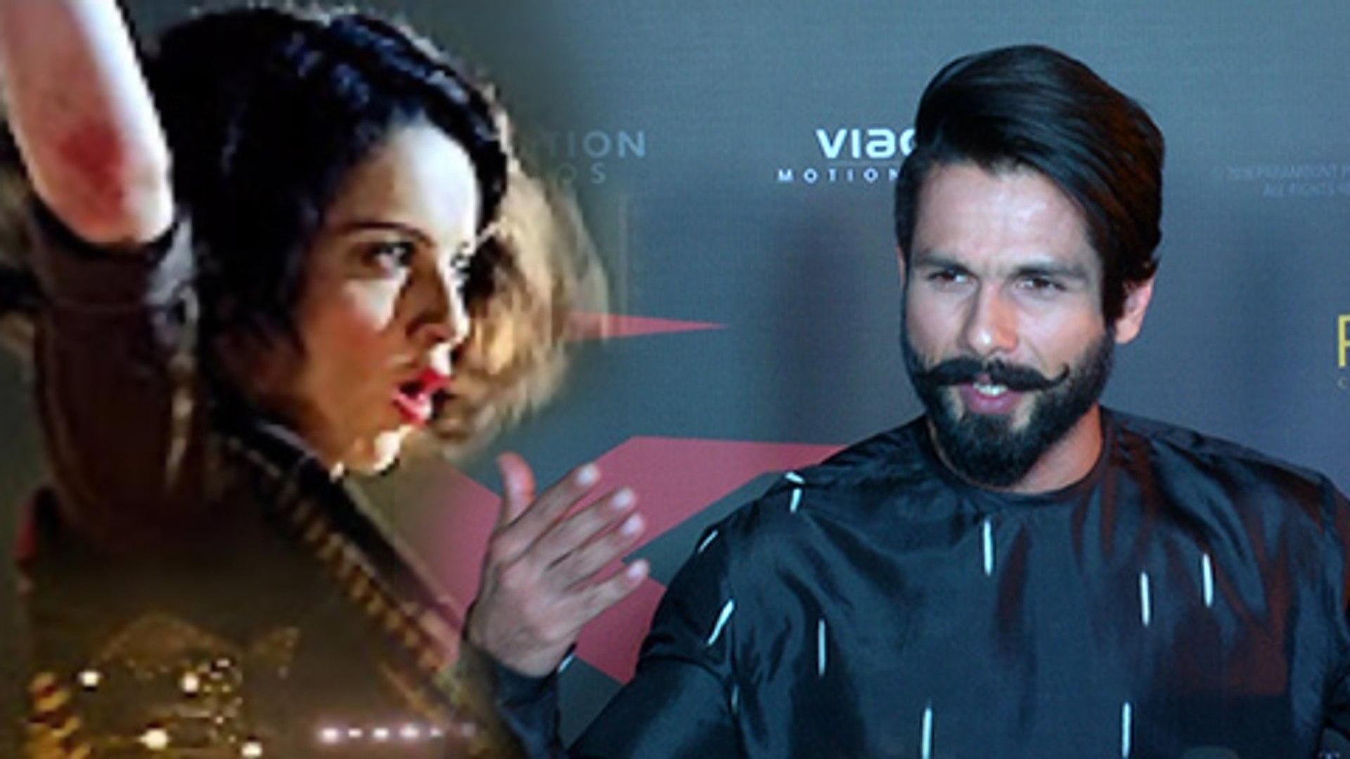 Shahid Kapoor Has No Issues with Kangana Ranaut | Rangoon | xXx Return Of Xander Cage India Premiere