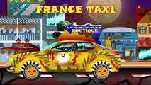 Taxi | Scary Taxi Videos | Halloween Transports | Scary International Taxi | Street Vehicles for kid