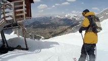 Le skieur Candide Thovex passe un saut incroyable de 30m... Ouahhhh