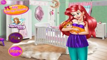 Ariel Baby Room Decoration - Little Mermaid Games For Girls