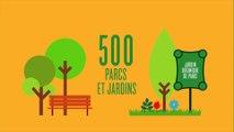 Ils font tourner Paris : les espaces verts