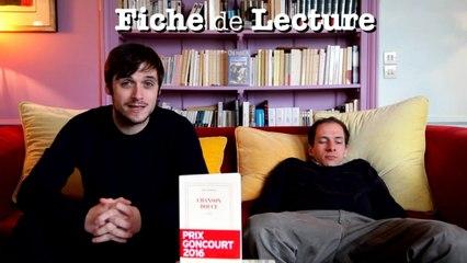 Chanson Douce (Leïla Slimani)   Fiche de Lecture Ep. 30