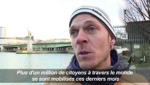 Paris: action Amnesty en faveur d'Edward Snowden