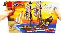 LEGO Pirates. LEGO Pirate Ship. Designer Brick 307 Adventure. Pirates Series. #LEGO