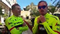 Cyclisme - Les nouvelles couleurs et le nouveau maillot de l'équipe Trek-Segafredo d'Alberto Contador