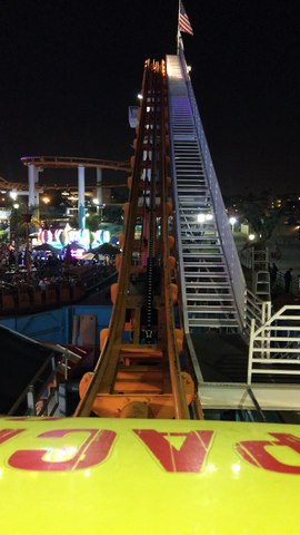 Santa Monica Roller Coaster