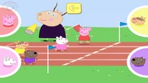 Peppa Pig playing Obstacle race with her friends ☀ Peppa Pig Obstacle Race ☀ Peppa Pig Games