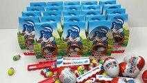 KINDER Surprise Eggs - 30 Kinder Surprise Easter Bunny Easter Eggs Mini Mix