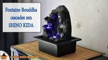 Fontaine Bouddha cascades zen Spiritualité Shino Kida (WWW.PING-DECO.FR)