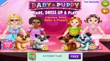 Baby & Puppy - Care & Dress Up TabTale Gameplay app android apps apk learning ed