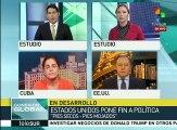 EEUU: sectores reaccionan por fin de política Pies Secos, Pies Mojados