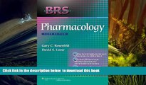 PDF [DOWNLOAD] BRS Pharmacology (Board Review Series) BOOK ONLINE