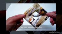 ᴴᴰ 3D Paper Snowflake Tutorial ~ Magazine / Recycled Paper ~ in 10 simple steps! (How-to / DIY)
