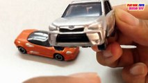 TOMICA TOY CAR: Subaru Forester & Spyker C8 Laviolette SWB | Kids Cars Toys Videos HD Collection