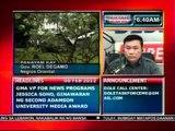DB: Panayam kay: Gov. Roel   Degamo, Negros Oriental ukol sa   lindol