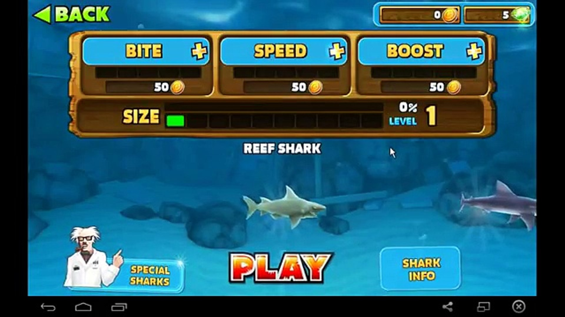 Hungry Shark Evolution - Best!!! Game for Android