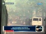 Saksi: Sunog sa warehouse, inabot   ng mahigit 14 oras bago naapula   (Parañaque city)
