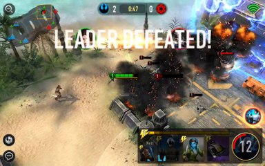 Star Wars™  Force Arena - Android gameplay PlayRawNow