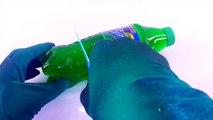 How to Make a Sprite Gummy Bottle DIY Jello Gelatin Sprite Soda Bottle Easy Homemade Dessert