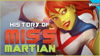 History Of Miss Martian!
