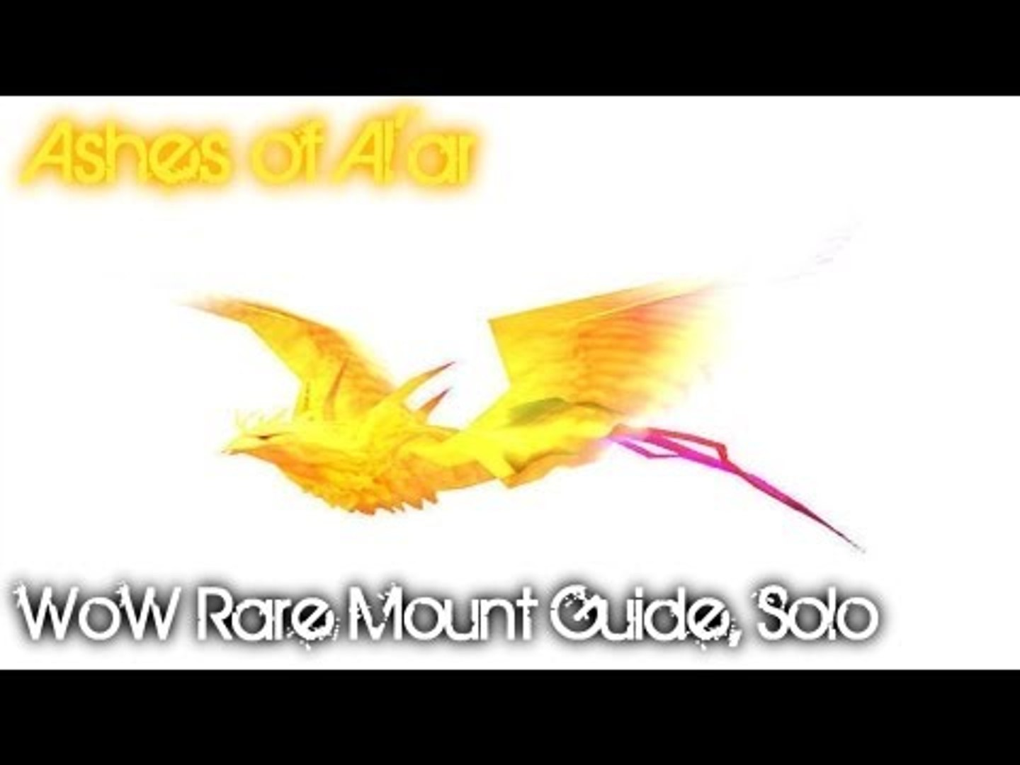 Syiler's WoW Mount Guides - Ashes of Al'ar - The Eye Solo Guide