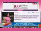 NTG: Kara David at Mel Tiangco, kabilang sa '100 Amazing Filipinas' ng Female Network.com (032012)