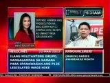 DB: Defense, hinimok ang Prosecution na mag-sorry kay Corona ukol sa isyu ng mga ari-arian (032212)