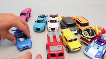 Toy Shooting Car Robocar Poli Garage Tayo the Little Bus Learn Colors Play Doh Toy Surprise YouTub
