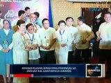 Saksi: Arnold Clavio, binigyang-parangal sa 2nd UST A.B. Gantimpala awards