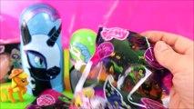 MLP My Little Pony Custom Villains Nesting Dolls Toys Surprises! MLP Ponies Video Kids Stacking Toys