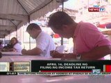 OC: April 16, deadline ng filing ng Income Tax Return
