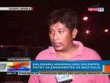 NTG: 2 hinihinalang holdaper, patay sa engkwentro sa mga Pulis sa Quiapo, Maynila (041712)