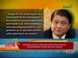 UB: Maayos na pabahay, karapatan ng mga mahihirap sa ilalim ng batas (042412)