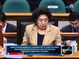 Ombudsman Morales: May 82 dollar accounts si Corona sa 5 bangko mula 2003-2011, batay sa AMLC report