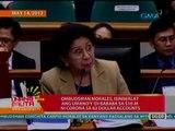 UB: Ombudsman Morales, isiniwalat ang umano'y 'di bababa sa $10M ni Corona sa 82 dollar accounts