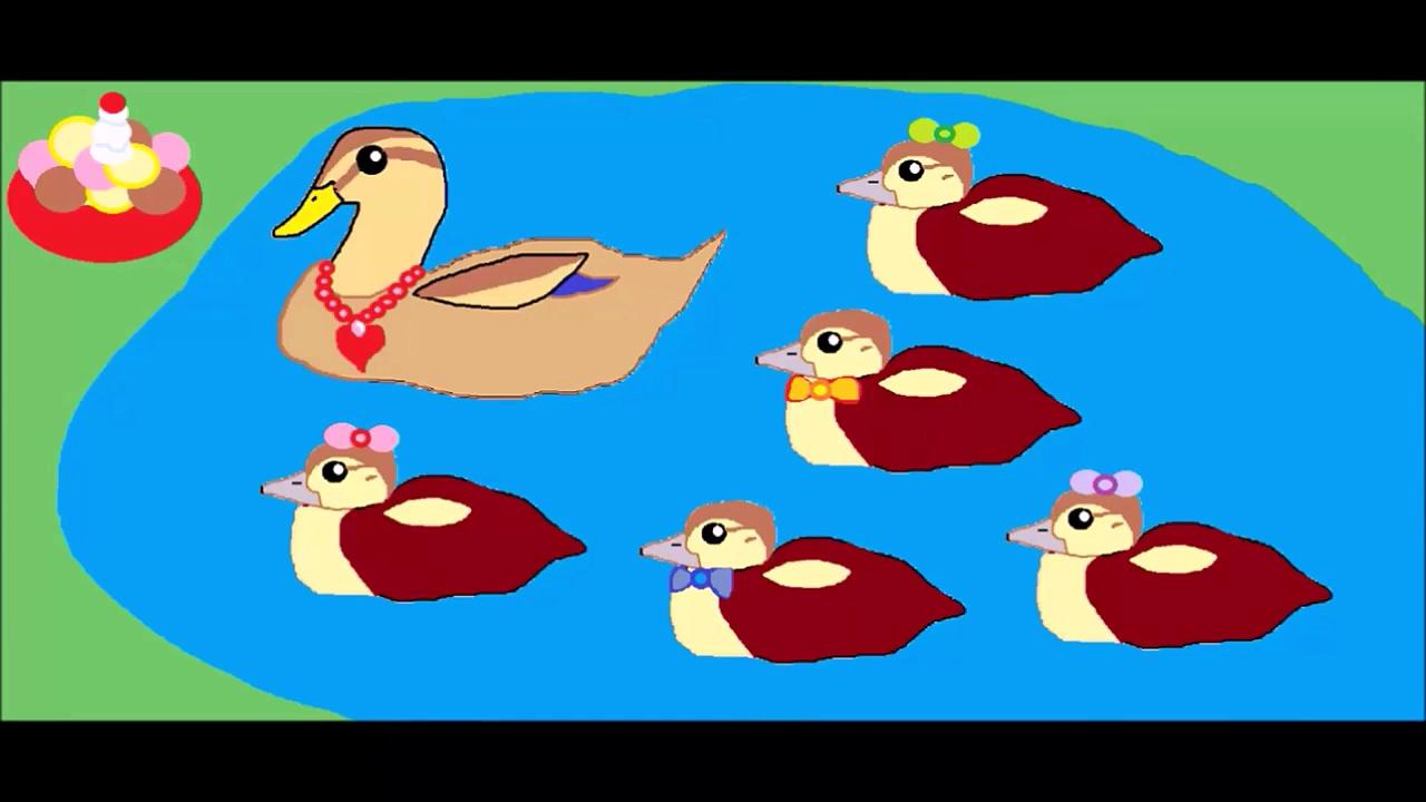 Five Little Ducks Nursery Rhyme – Five Little Ducks – Childrens Song – Nursery Rhyme for Children