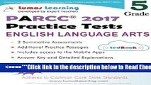Read Common Core Assessments and Online Workbooks: Grade 5 Language Arts and Literacy, PARCC