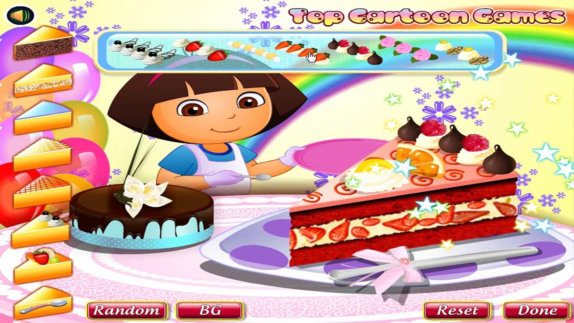 Dora Aventureira Em Portugues Baby Dora Yummy Cake Decorating
