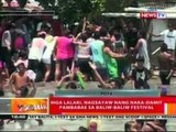 BT: Mga lalaki, nagsayaw nang naka-damit pambabae sa Baliw-baliw Festival