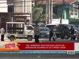 UB: Sec. Robredo: Maayos ang lagay ng Jordanian journalist at 2 pinoy crew