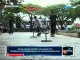 Saksi: Daan-daang skaters sa Davao city, bumida sa pagdiriwang ng Go Skateboarding Day