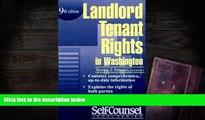 PDF [DOWNLOAD] Landlord/Tenant Rights Washington (Landlord/Tenant Rights in Washington)