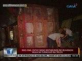 24 Oras: Mag-iina, patay nang   matabunan ng buhangin mula sa   tumagilid na truck