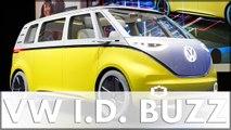 NAIAS 2017 Volkswagen: VW zeigt die Studie ID BUZZ den VW Atlas und den VW Tiguan LWB