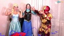 Spiderman & Hulk & Frozen Elsa! TOILET PRANK! SuperHeroes in Real Life