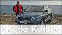 Test & Fahrbericht Skoda Kodiaq 2017 | Skoda SUV | Probefahrt